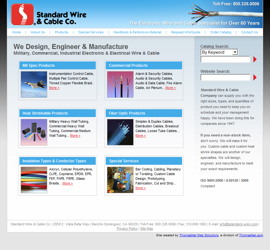 Design, Engineer, & Manufacture Commercial, Military, & Industrial ...